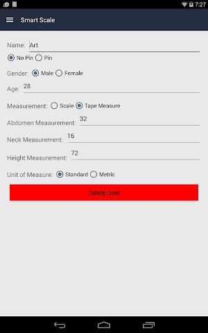 Screenshots for SmartScale