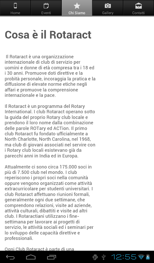 Rotaract Club Alessandria- screenshot