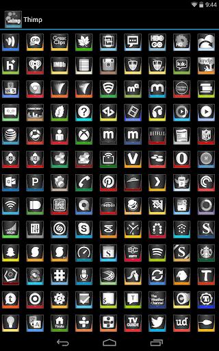 【免費個人化App】Thimp Icon Pack-APP點子