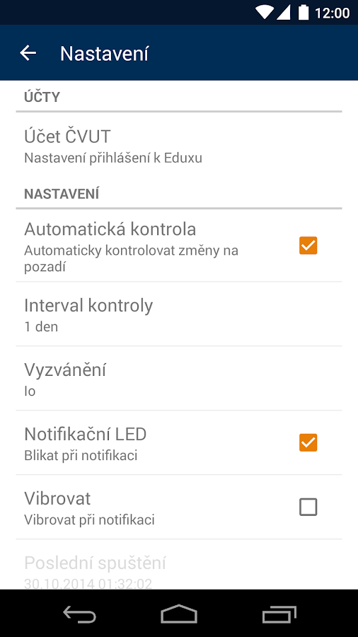 ČVUT FIT checker - screenshot