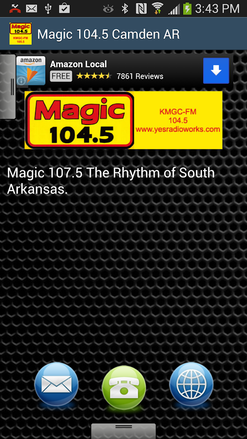 Magic 104.5 Camden AR - screenshot