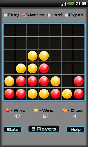 玩棋類遊戲App|Four In A Line - 四目並べ免費|APP試玩