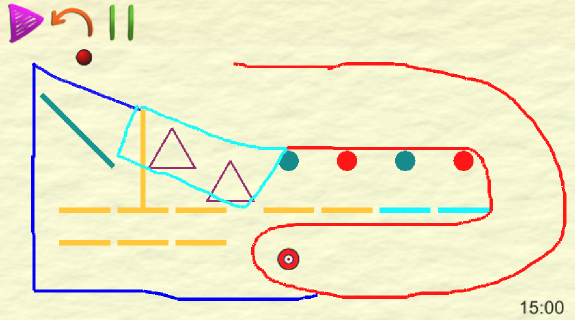 drawing the path- screenshot