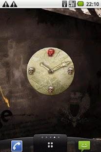 Skulls Clock Widget