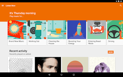 Google Play Music Screenshot 1