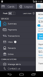 Barclaycard for Android - screenshot thumbnail