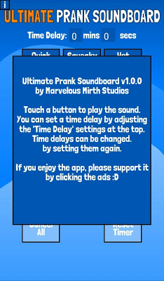 Ultimate Prank Soundboard - screenshot