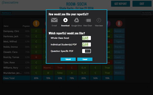 Socrative Teacher - screenshot thumbnail