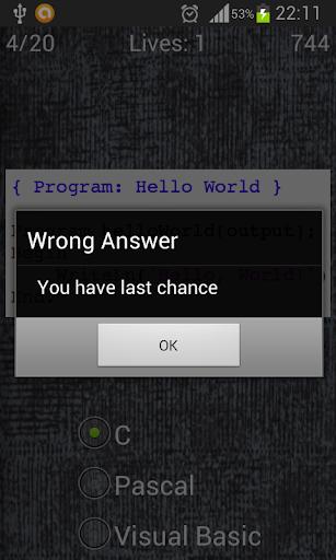 玩益智App|编程语言测验免費|APP試玩