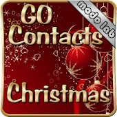 Christmas GO Contacts theme