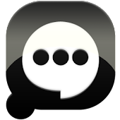Easy SMS solid Black theme