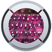 Pink Glass TouchPal Theme
