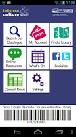 Screenshot of Dundee Libraries