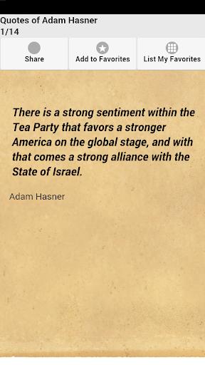 Quotes of Adam Hasner