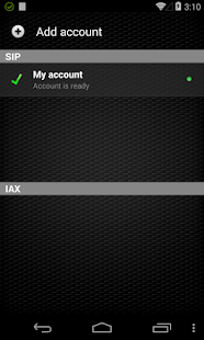Zoiper IAX SIP VOIP Softphone- screenshot thumbnail
