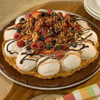Brownie Ice Cream Pizza.