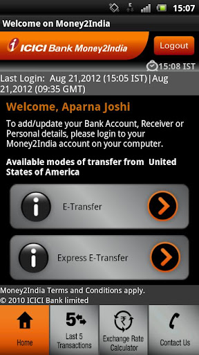 Icici Bank Money2india Android S Apk 4521048 Money Finance India Mobile9