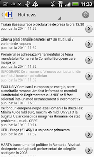 Romania News - screenshot thumbnail