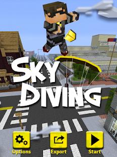 Sky diving butter windfall