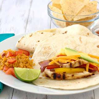 Grilled Chicken Fajitas.