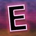 Swaying Pink E-Monogram icon