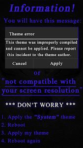 ReBorn Blue : CM11 Theme v1.9