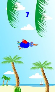 Funny Bird. At the beach- screenshot thumbnail