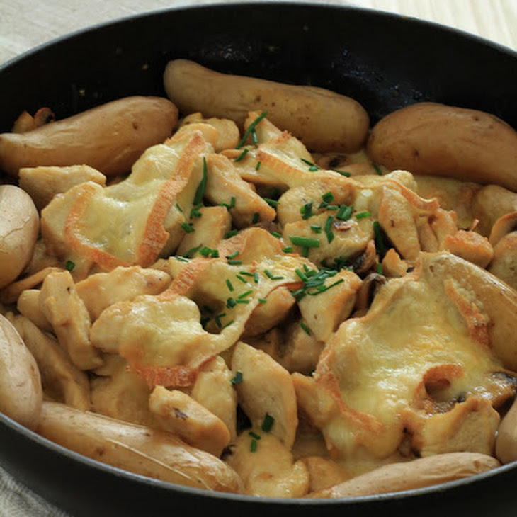 Chicken and Maroilles Gratin Recipe