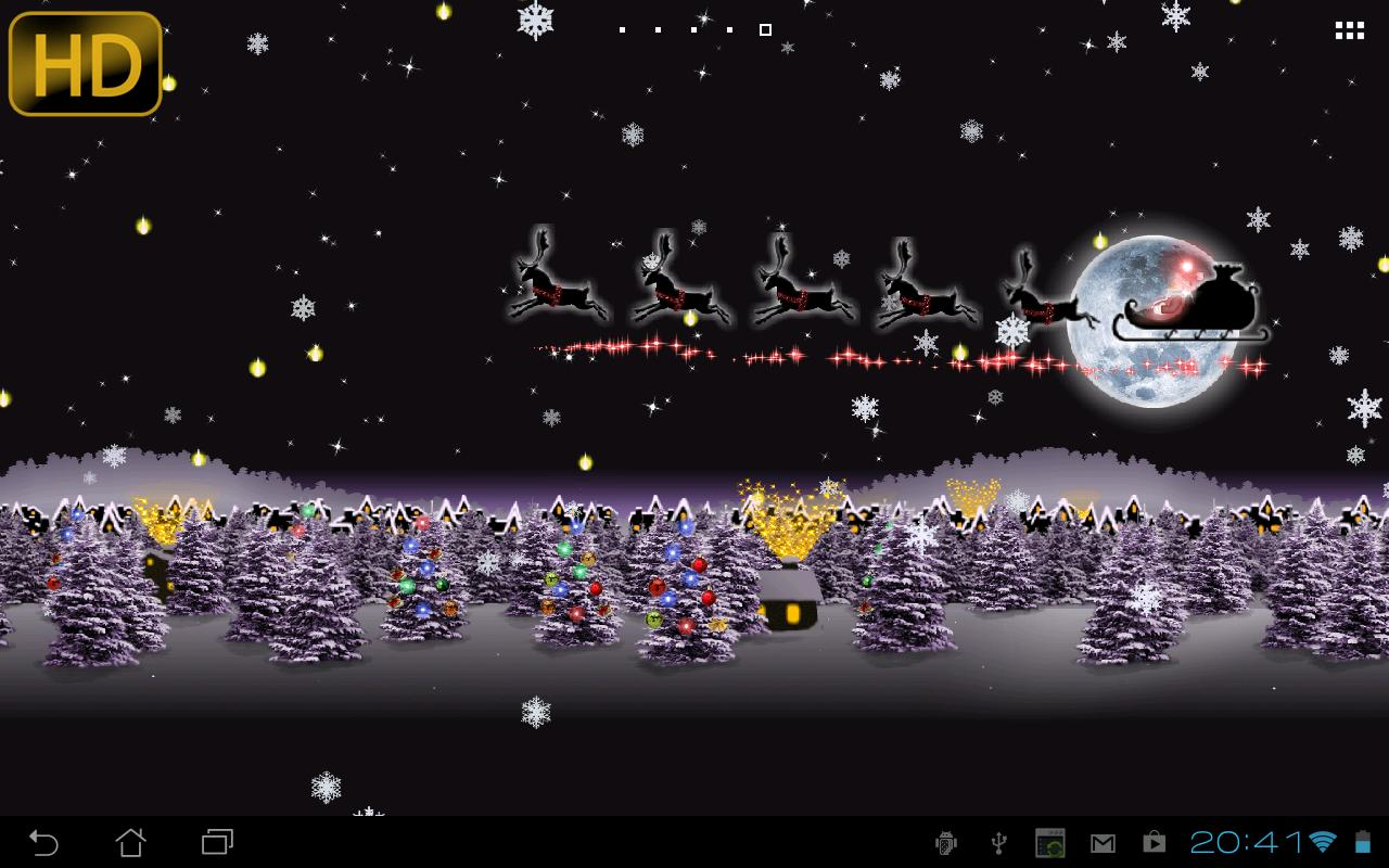 weihnachten live wallpaper android apps auf google play