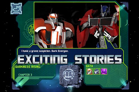 Transformers Prime Story Cube - screenshot thumbnail
