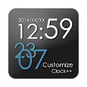 Customize Clock++ logo