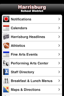 Harrisburg School District- screenshot thumbnail