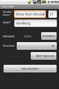 Taxi-Hähnel Freiberg- screenshot thumbnail