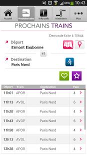 SNCF Transilien- screenshot thumbnail