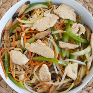 Chicken Chow Mein from 'The Chinese Takeout Cookbook'.