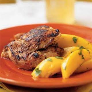 Jamaican Chicken Thighs.