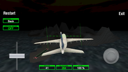Airplane Night Flight Time Sim 1 screenshot 88012