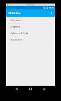Screenshot of EP Mobile