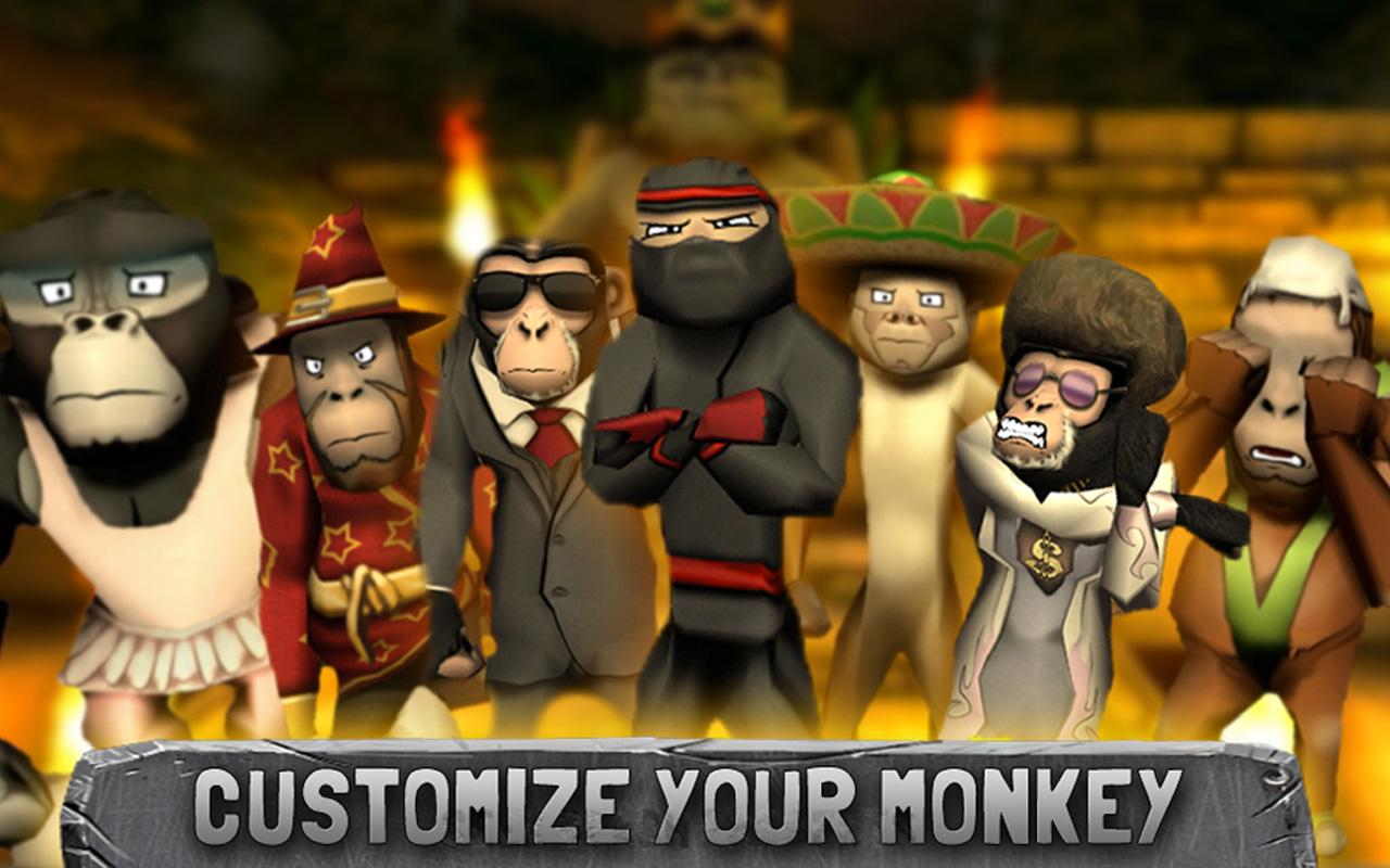 Battle Monkeys Multiplayer- screenshot