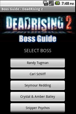 Dead Rising 2 Boss Guide - screenshot