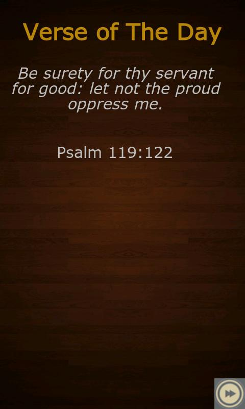 Book of Psalms (KJV) FREE!- screenshot