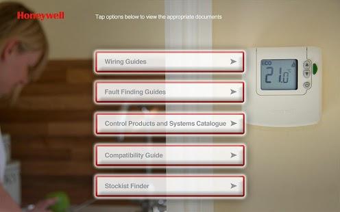 Wiring Guide by Honeywell(Tab)- screenshot thumbnail