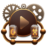 Skin for Poweramp Steampunk