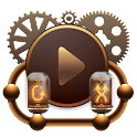 Skin for Poweramp Steampunk icon