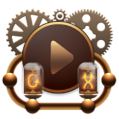 Poweramp skin Steampunk