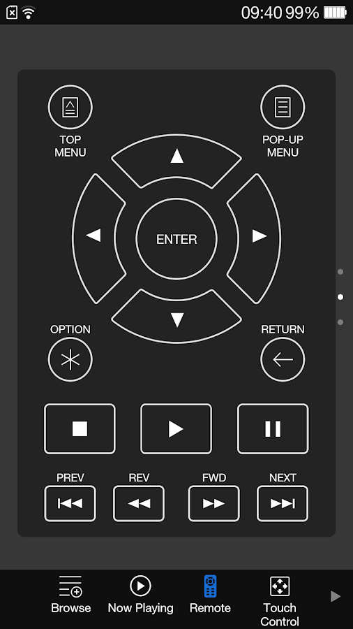 OPPO MediaControl for BDP-10x - screenshot