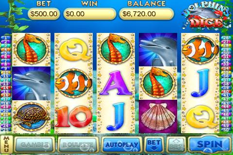 Dolphins Dice Slots - screenshot