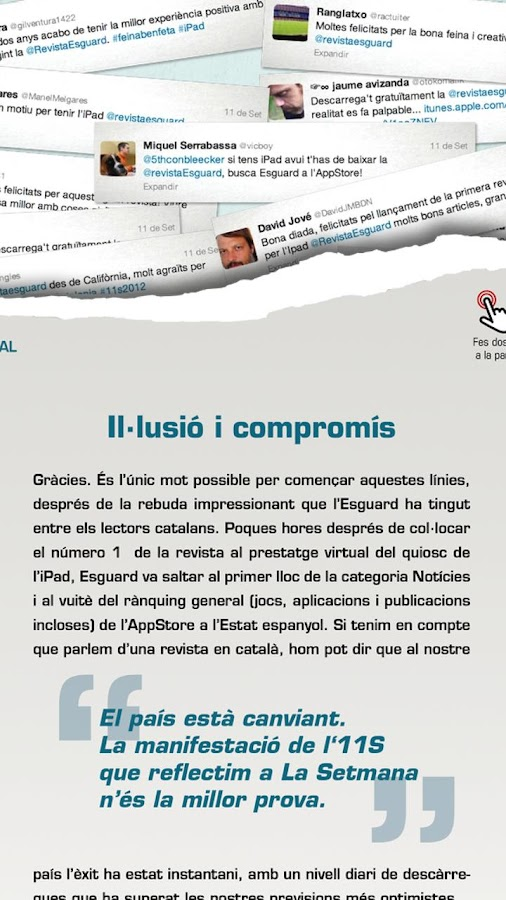 Revista Esguard - screenshot