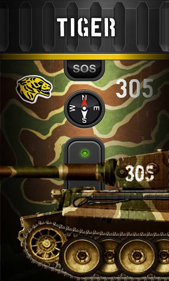 Tank Flashlight (German pack)- screenshot