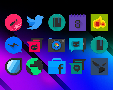 BlackPOP - Icon Pack v1.9